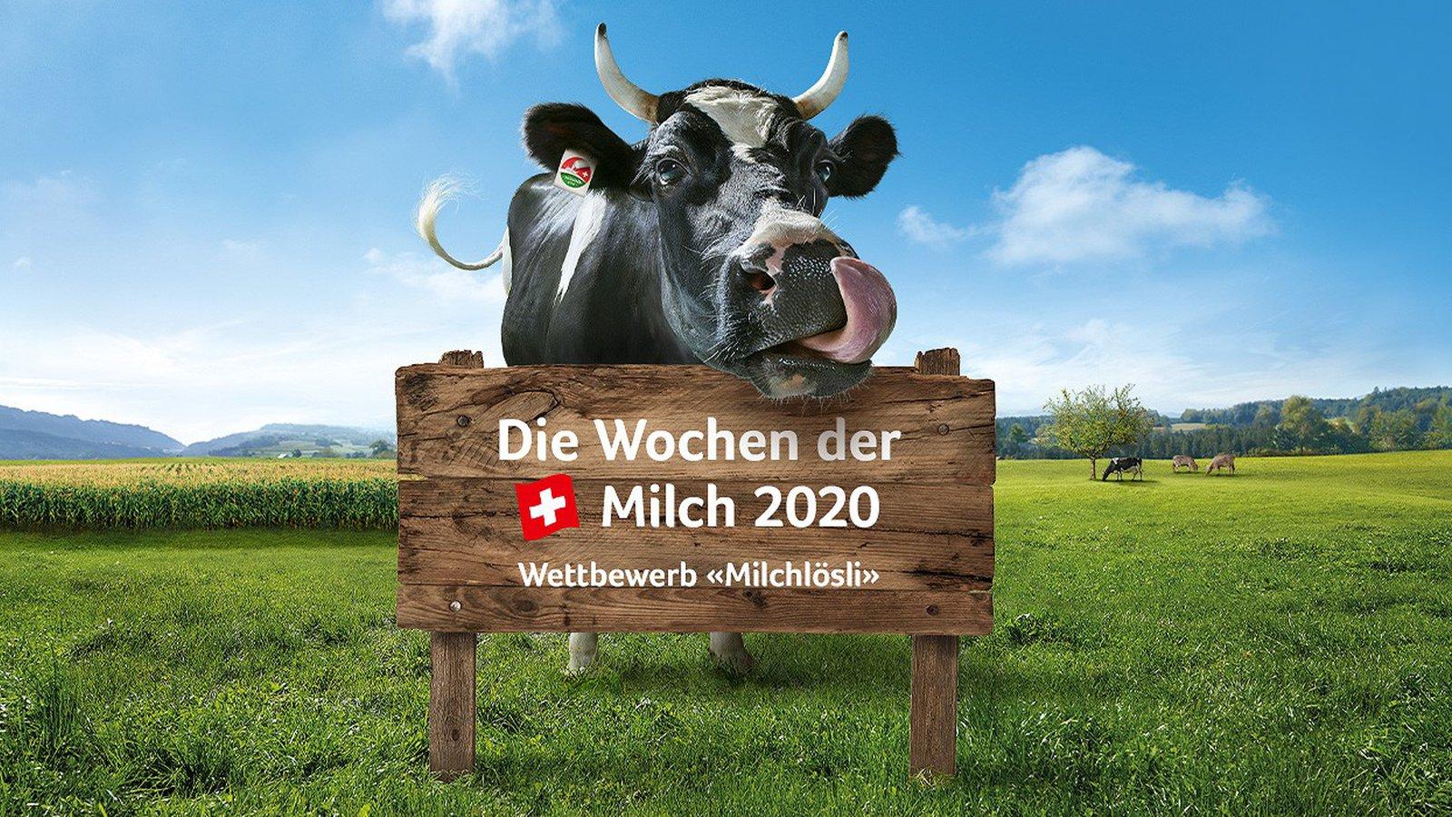 Wochen der Schweizer Milch 2020: mitmachen und profitieren!