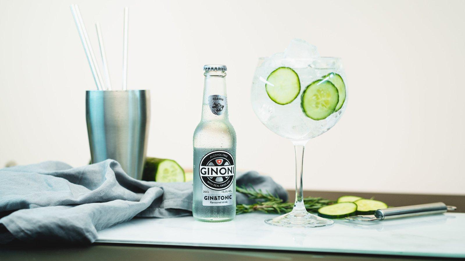 Neues Trend-Getränk aus Willisau: der alkoholfreie Gin Tonic «GINONI»