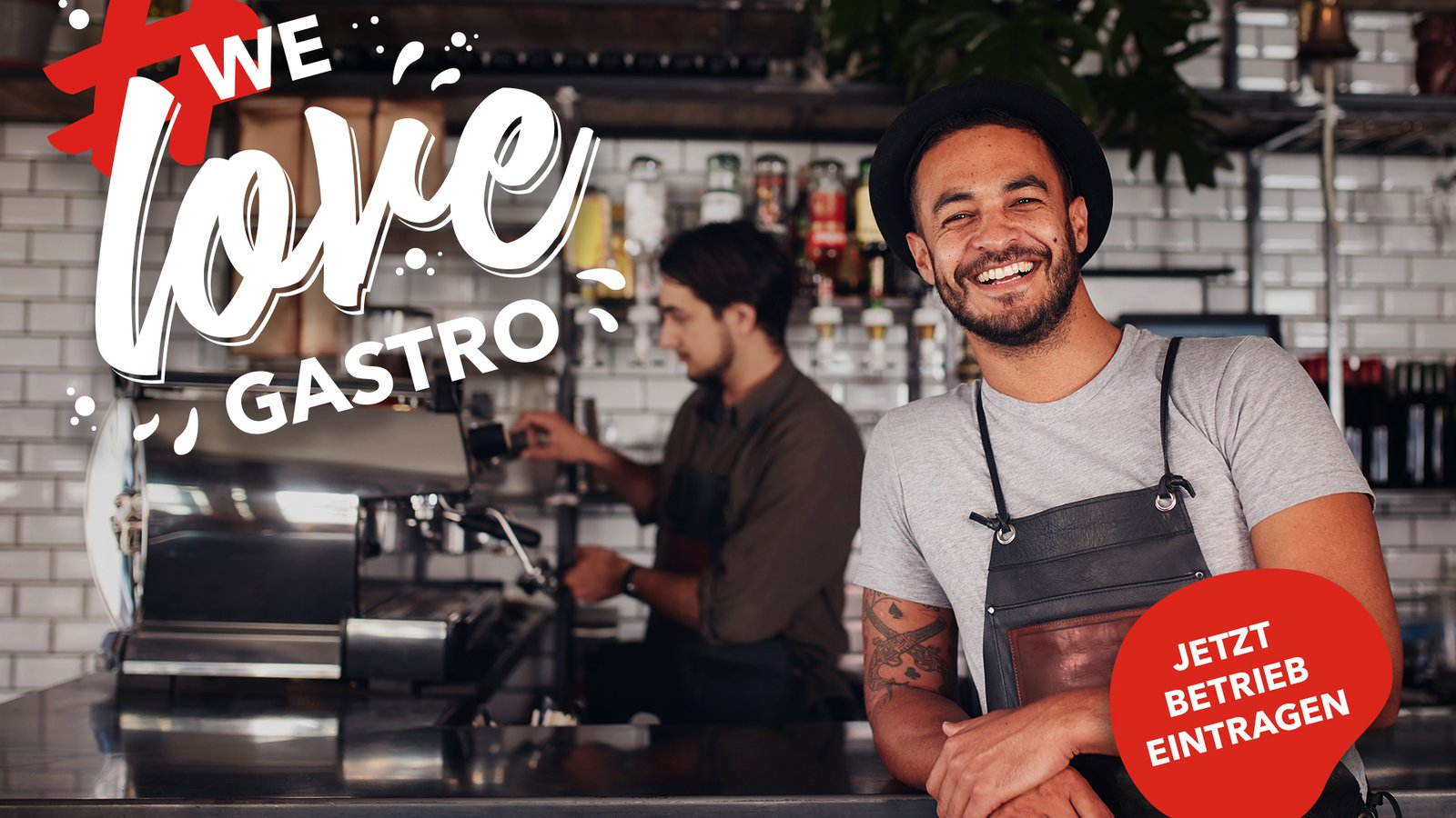 We love Gastro - Unterstützung mit Weitblick für den Neustart der Gastronomie